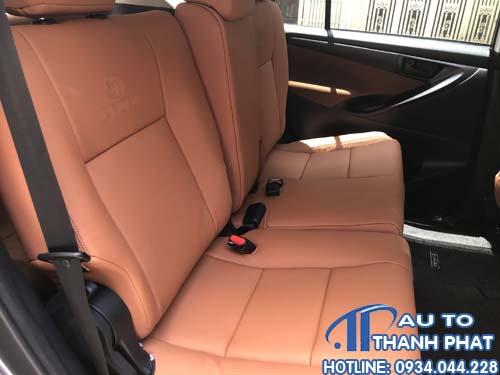 Bọc Ghế Da Cho Xe Toyota Innova 2019 0934044228