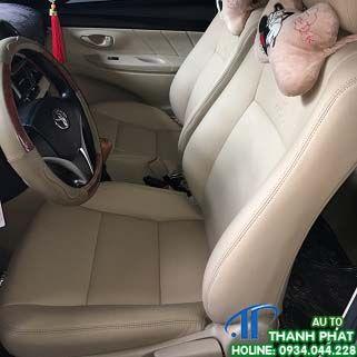 May Bọc Ghế Da Toyota Vios