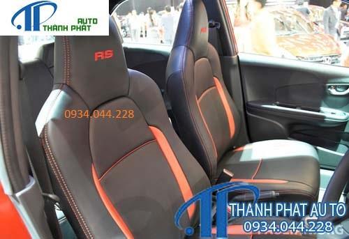 May Ghế Da Xe Honda Brio