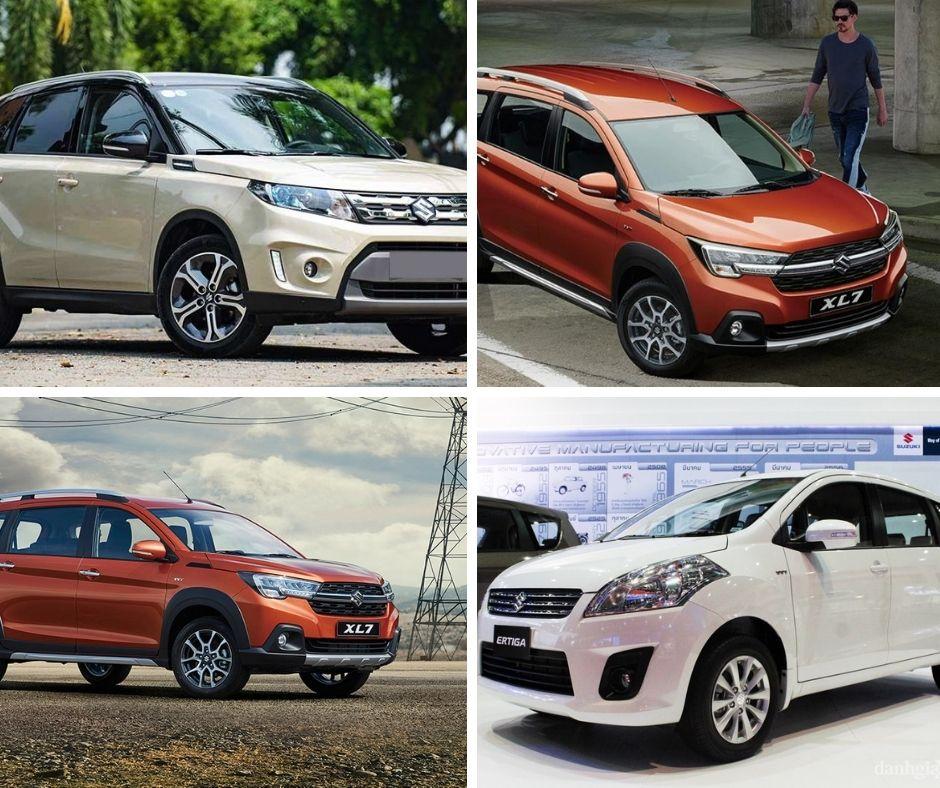 Các mẫu xe Suzuki nổi bật nhất thị trường