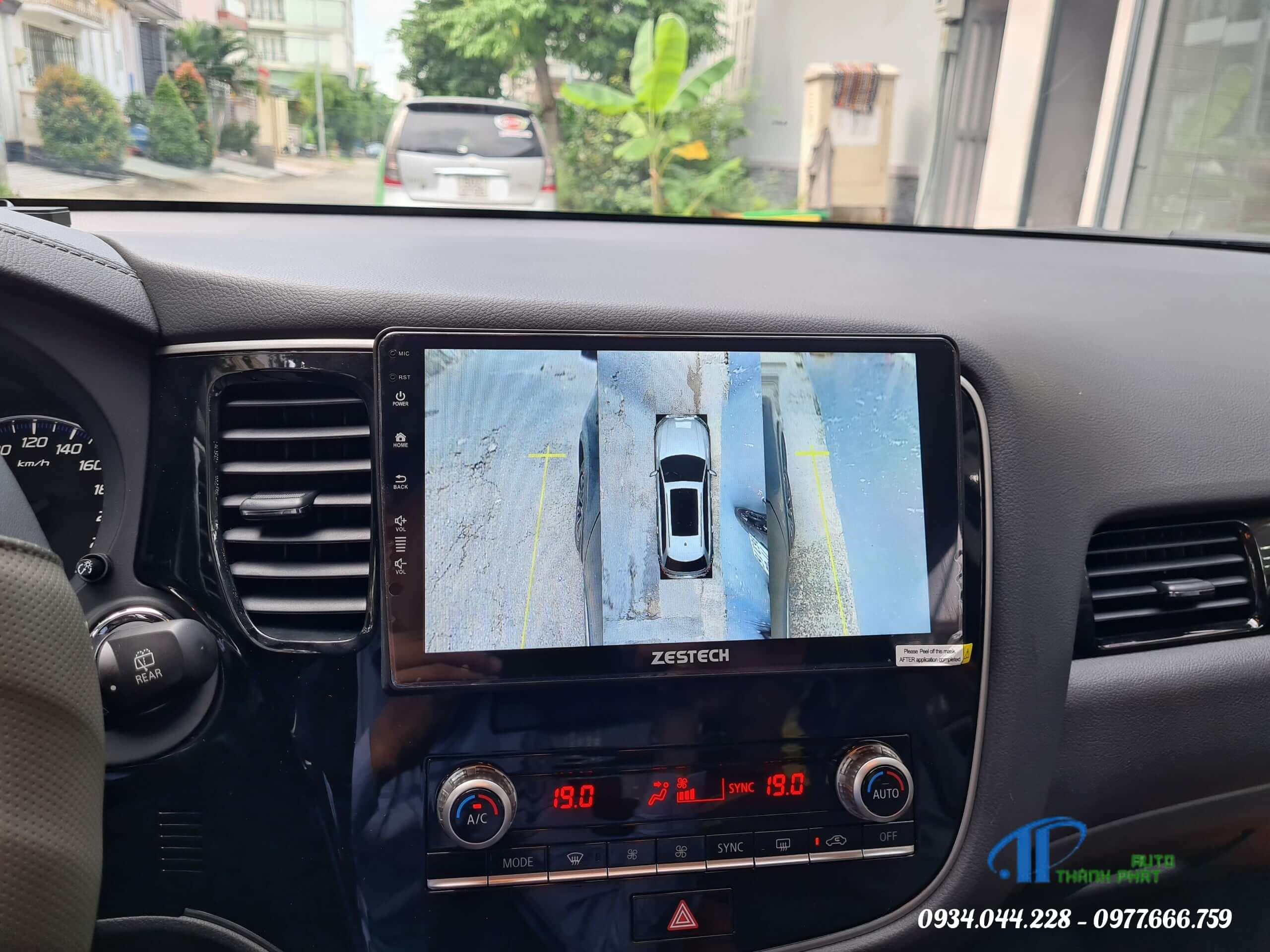 camera 360 độ Zestech Ford Ecosport