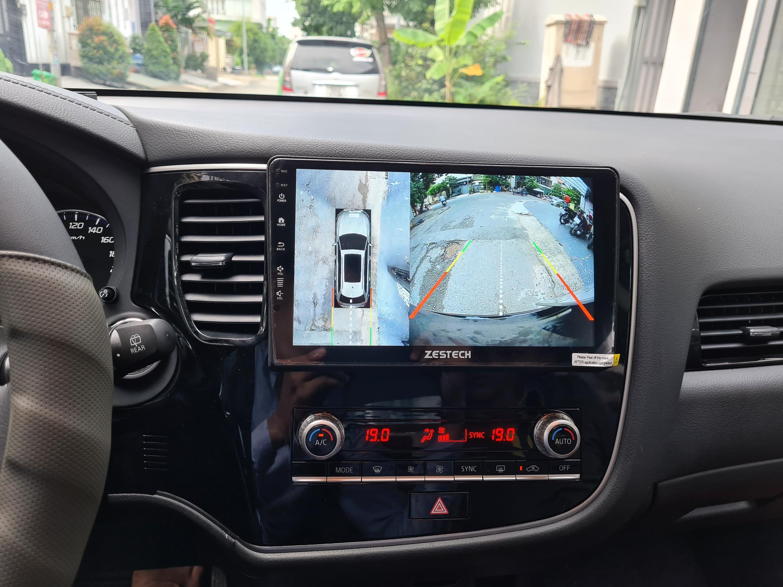 camera 360 độ Zestech Honda City