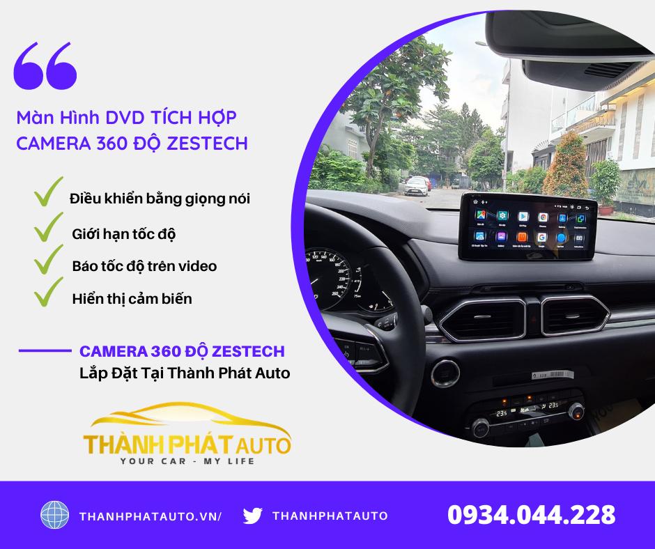 Camera 360 Độ Zestech Honda Jazz