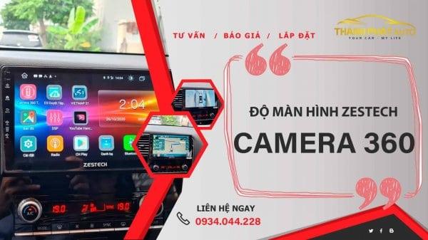 Camera 360 Độ Zestech Isuzu D-Max