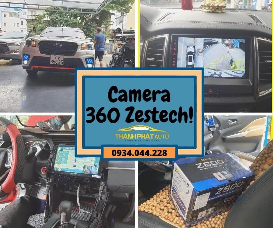 Camera 360 Độ Zestech Kia Rio