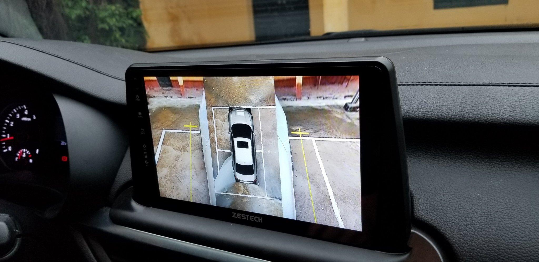 Camera 360 Độ Zestech Kia Sorento