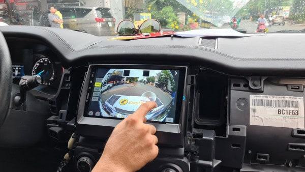 Camera 360 Độ Zestech Mazda BT50