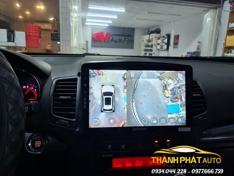 Camera 360 Độ Zestech Nissan Teana