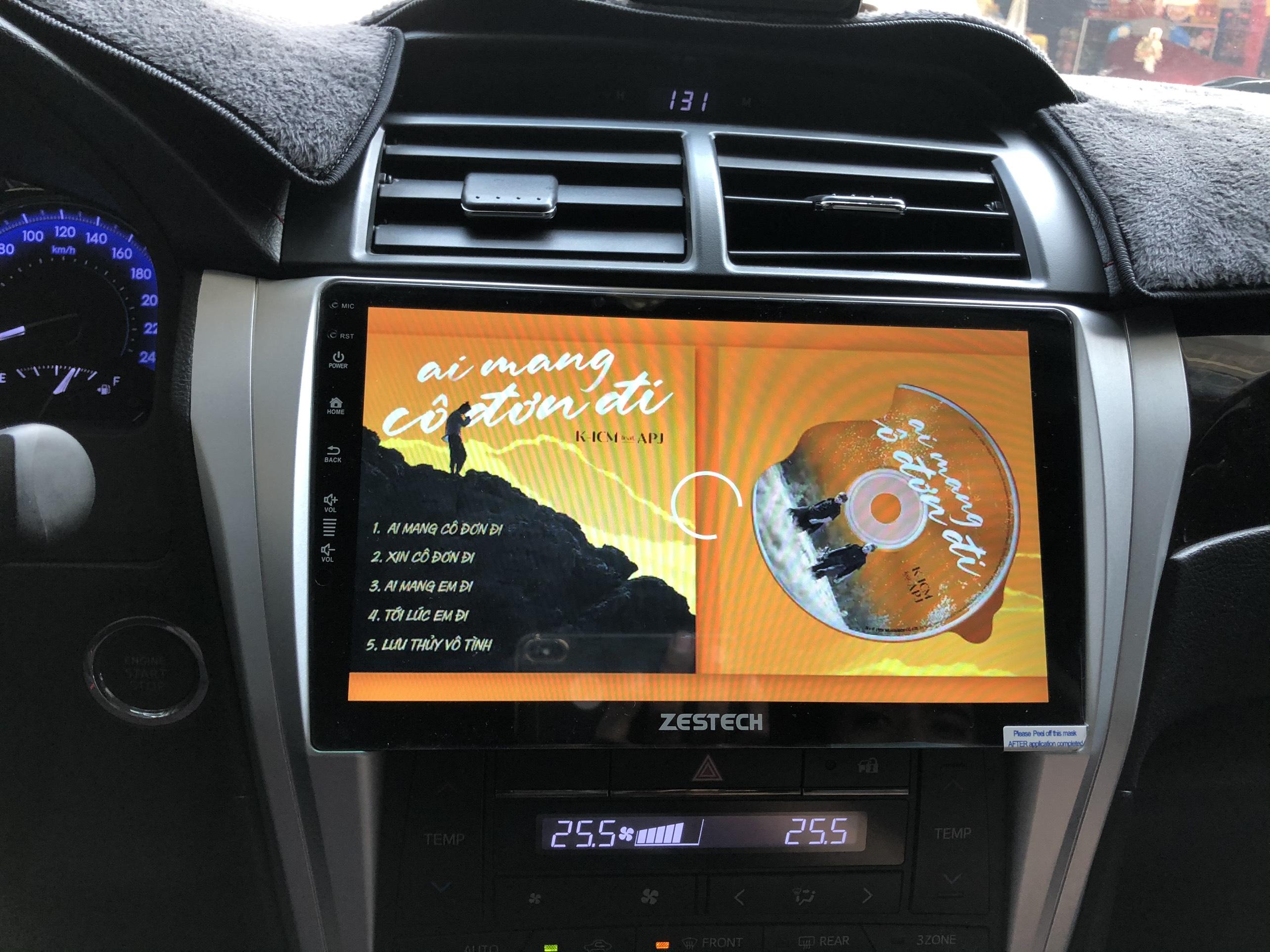 Camera 360 Độ Zestech Toyota Camry 2.5Q