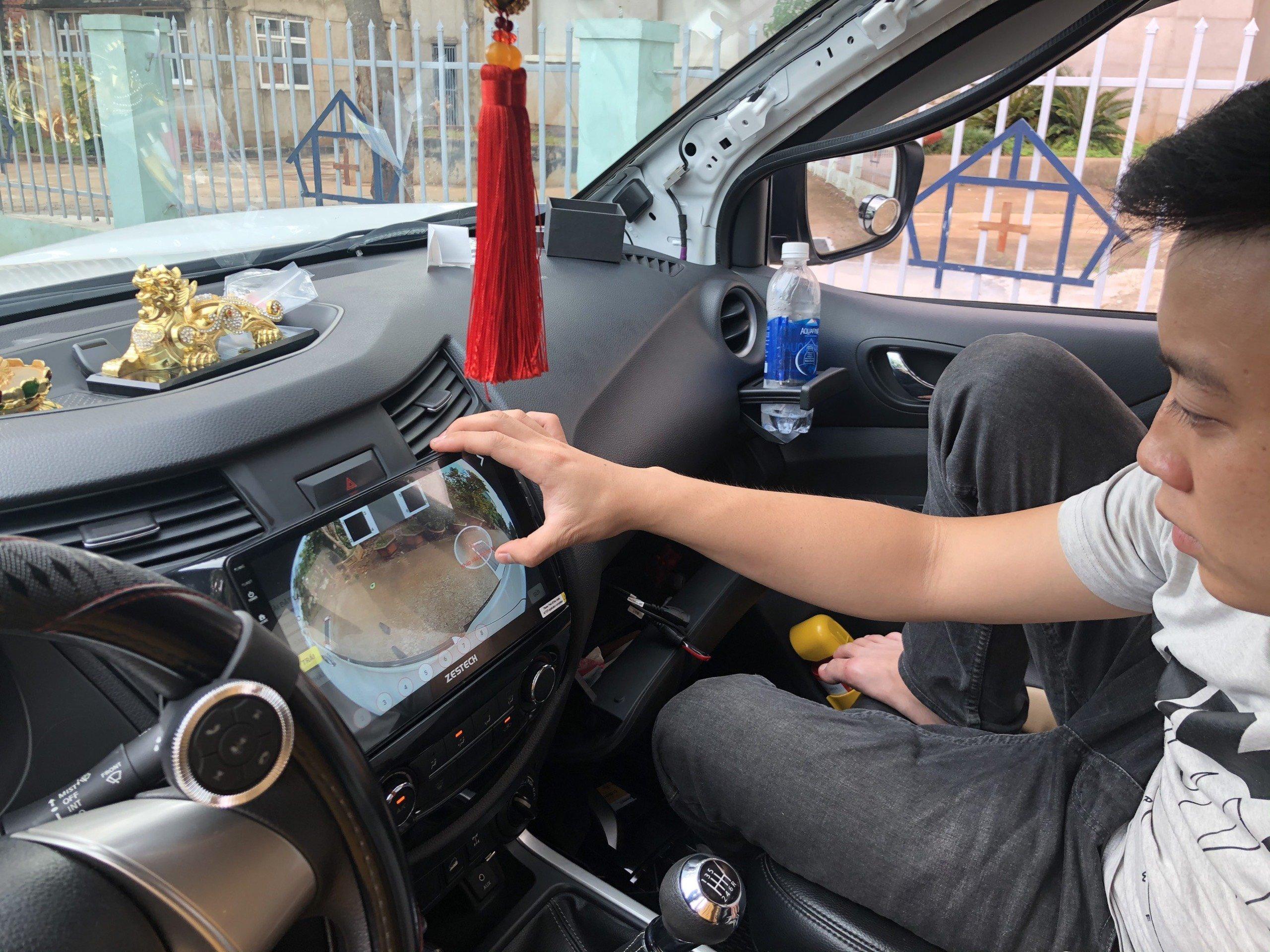 Camera 360 Độ Zestech Toyota Rush