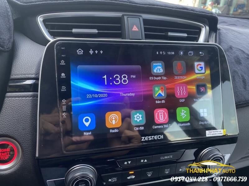 Camera 360 Độ Zestech Xe Honda CRV