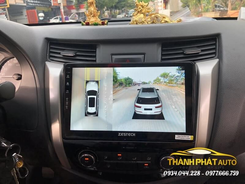 Camera 360 Độ Zestech Xe Nissan Navara