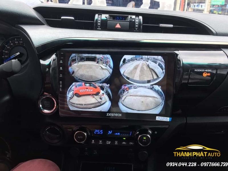 Camera 360 Độ Zestech Xe Toyota Hilux