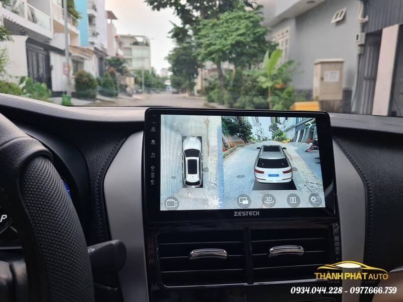 Camera 360 Độ Zestech Xe Toyota Vios