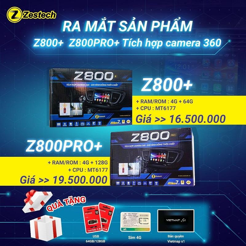 Camera 360 Độ Zestech Z800 Plus Và Z800 Pro Plus , Camera Toàn Cảnh Số 1 Việt Nam