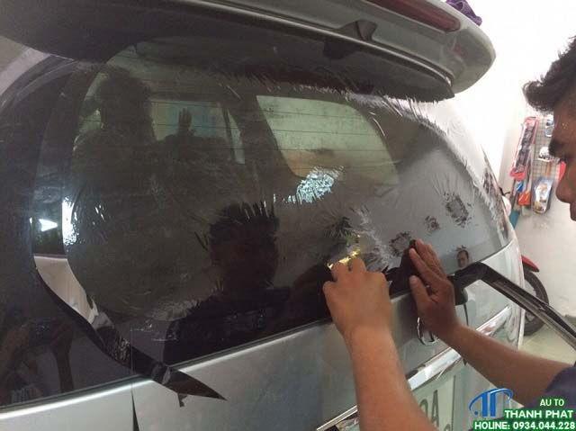 Dán Phim Cách Nhiệt Xe Toyota Zace Tại Tphcm