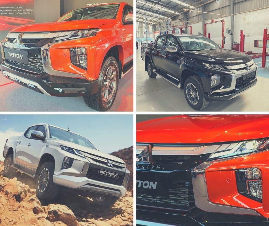 Đánh giá xe Mitsubishi Triton 2021