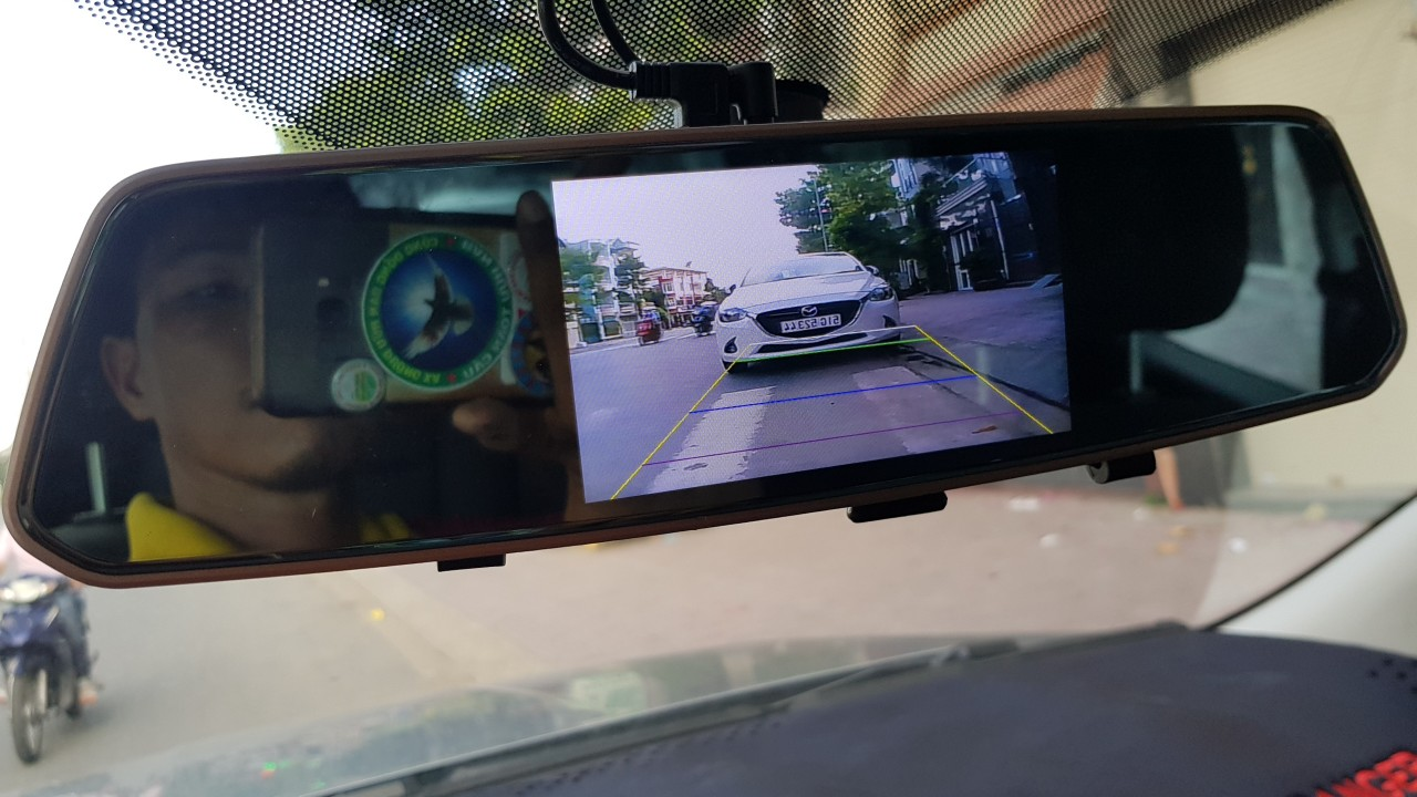 dịch vụ lắp camera lùi xe honda brio huyện hóc môn giá rẻ