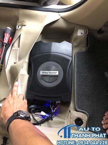 Gắn Loa Sub Cho Xe Chevrolet Pajero Sport 0977.666.759