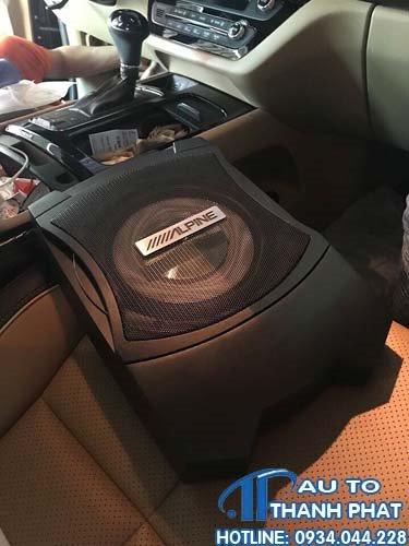 Lắp Đặt Âm Thanh Sub Cho Xe Ford Ranger Chất Lượng