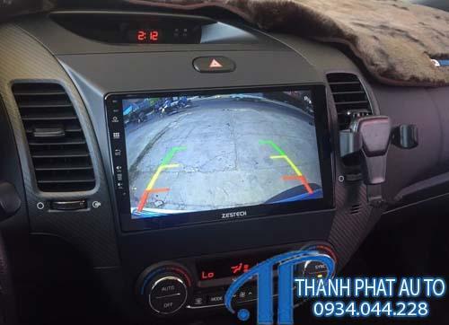 Lắp Đặt Camera Lùi Xe Honda Brio