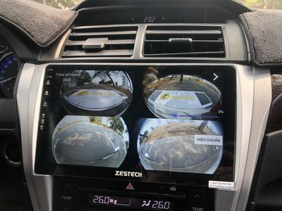 Lắp Đặt Màn hình DVD Zestech Cho xe Camry Uy Tín HCM