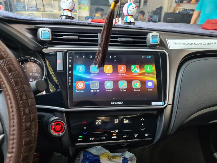 Màn Hình DVD Android Zestech Honda City