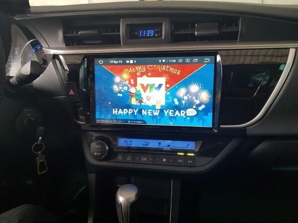 Màn Hình DVD Android Zestech Toyota Altis