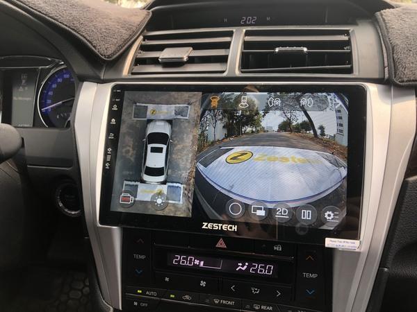Màn Hình DVD Android Zestech Toyota Camry