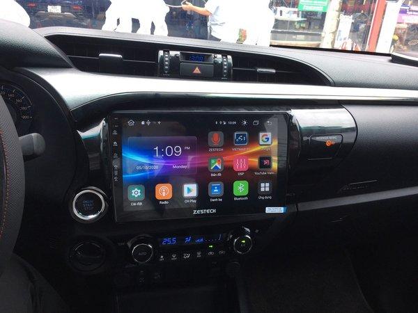 Màn Hình DVD Android Zestech Toyota Hilux