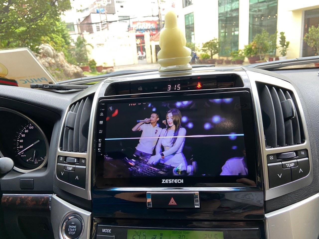 Màn Hình DVD Android Zestech Toyota Land Cruiser Prado