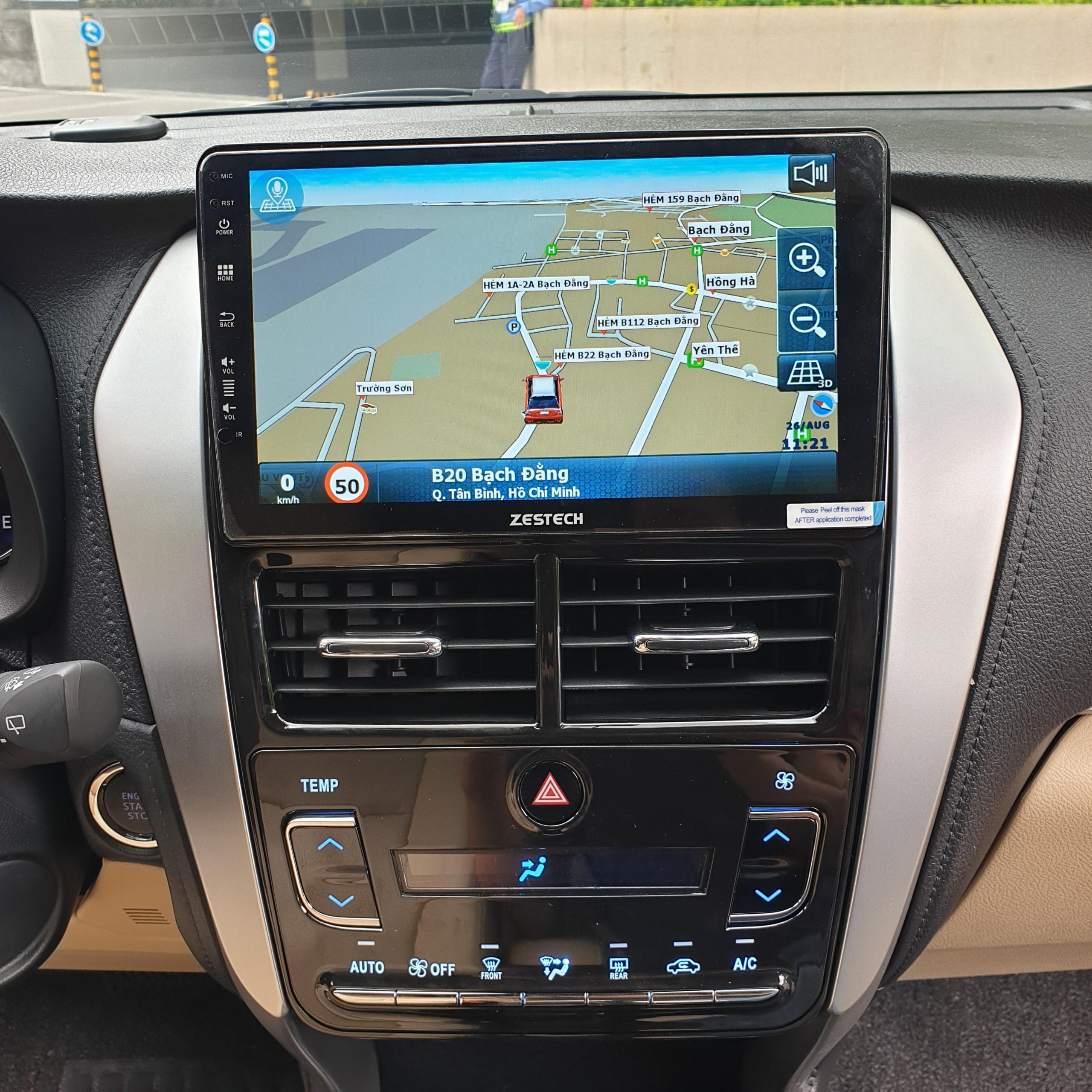 Màn Hình DVD Android Zestech Toyota Yaris