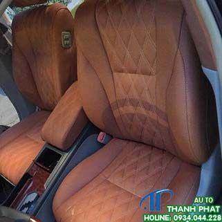 May Bọc Ghế Da Xe Toyota Camry