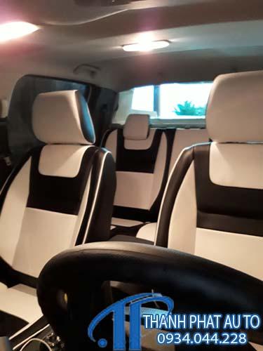May Ghế Da Xe Ford Ranger 2020