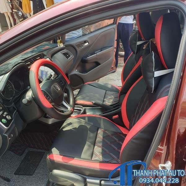 May Ghế Da Xe Honda Brio 2020
