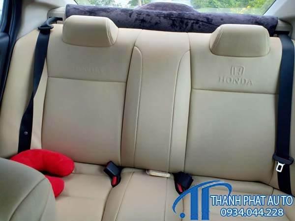 May Ghế Da Xe Honda City 2020