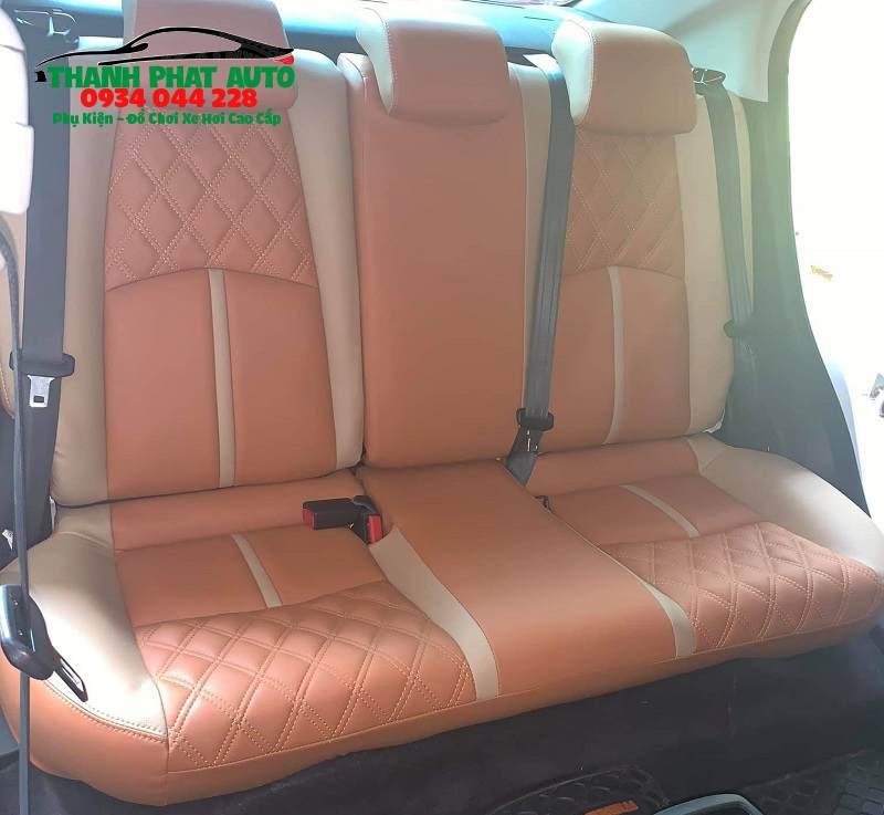 May Ghế Da Xe Mazda 2