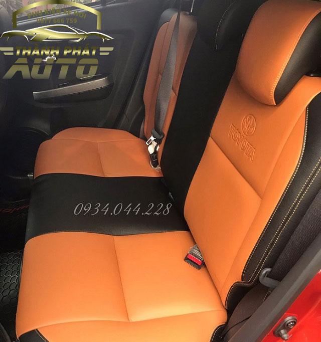 May Ghế Da Xe Toyota Wigo 2020
